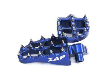 Afbeeldingen van ZAP E-Peg footpegs Yamaha, GAS GAS, KTM, HUSKY blue