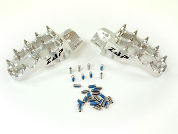 Picture of E-Peg footpegs KX 85 Silver