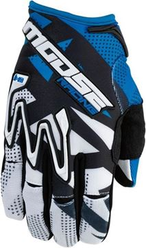 Picture of 33303275   GLOVE S6 MX1 BLUE SM