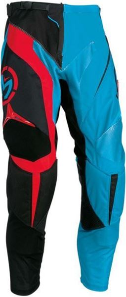Picture of 29031367   PANT S6YTH M1 CYN/RED 26
