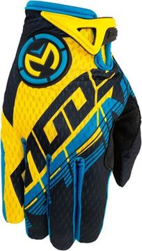 Picture of 33320971   GLOVE S6YTH XS1 CYN/YL XS