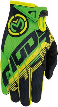 Picture of 33320977   GLOVE S6YTH XS1 GRN/YL MD