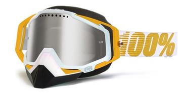 Picture of 26011474   GOGGLE RC SNOW OR MIRROR/GOLD