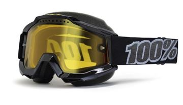 Picture of 26011479   GOGGLE ACC SNOW BK YELLOW
