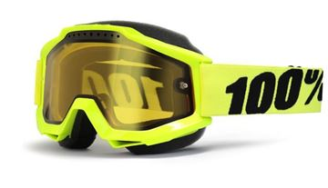 Picture of 26011482   GOGGLE ACC SNOW FL/YL YELLOW
