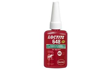 Picture of LOCTITE 648 BEHOUD VERBINDING FLES 24ML