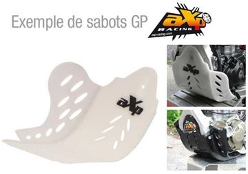Picture of BODEMB. GP KXF 450 06-08ZWART