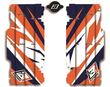 Picture of BLACKBIRD 2016 Replica Marchetti Racing Radiator Louvers KTM
