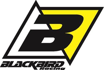 Picture of Blackbird Clutch Cover Protection Sticker Black Husqvarna