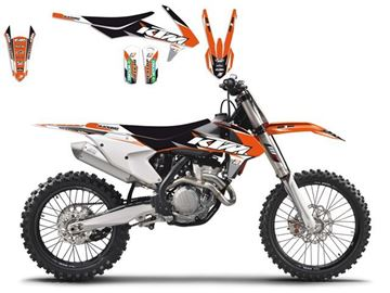 Picture of DECAL KIT BLACKBIRD DREAM3 KTM SX/SXF 125 &+ 16