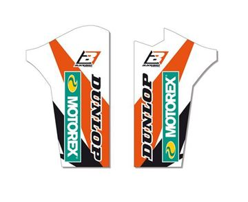 Picture of Blackbird Fork Guards Graphic Kit KTM SX/SX-F