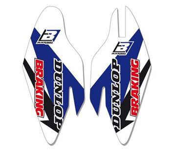 Picture of Blackbird Fork Guards Graphic Kit Yamaha YZ250F/YZ450F