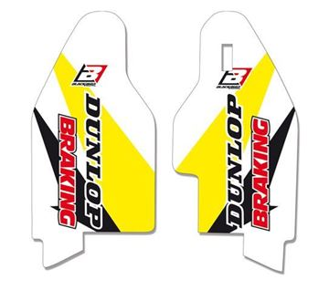 Afbeeldingen van Blackbird Fork Guards Graphic Kit Suzuki