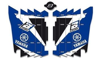 Picture of DECAL KIT RADIATORROOSTER BLACKBIRD YAMAHA YZ250F/450F 14-16 WR250F 15-16