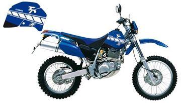 Picture of GRAPHIC KIT BLAUW YAMAHA TT350 87-96 DREAM GRAPHIC