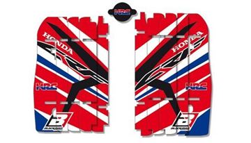 Afbeeldingen van Blackbird replica HRC 2015 radiator louvers graphic kit Honda CR-F250/450R