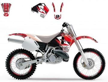 Afbeeldingen van DECAL KIT BLACKBIRD DREAM 3 HONDA CR500R 91-01