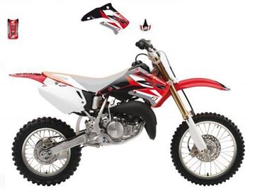 Afbeeldingen van GRAPHIC KIT HONDA CR85R 03-07 DREAM GRAPHIC III