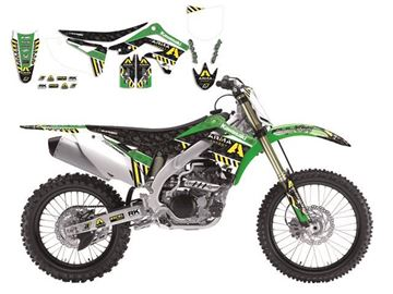 Picture of GRAPHIC KIT+ZADELOVERTREK ARMA ENERGY KAWA KXF 450 09 - 11