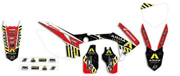 Afbeeldingen van GRAPHIC KIT ARMA ENERGY HONDA CRF 450 05-08