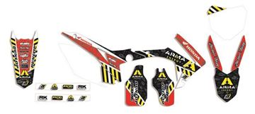 Afbeeldingen van GRAPHIC KIT ARMA ENERGY HONDA CRF 250 04-09 CRF 250 X 04-15