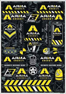 Picture of STICKERPLAAT '14 ARMA ENERGY