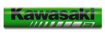 Afbeeldingen van Blackbird Kawasaki factory replica cross-bar handlebar foam
