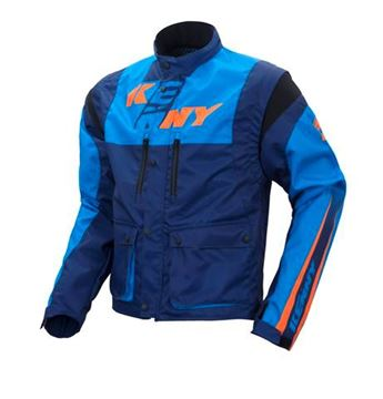 Picture of TRACK JACKET CYAN NAVY ORANGE