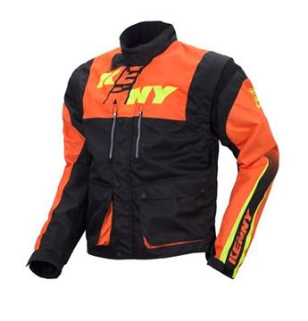 Picture of TRACK JACKET BLACK ORANGE