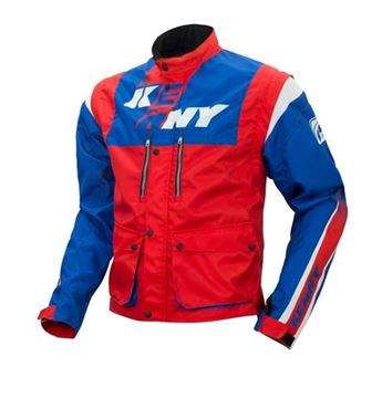 Picture of TRACK JACKET BLUE RED
