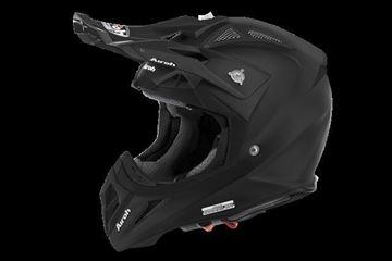 Picture of AIR-H-AV2211 ( )Helmet Offroad 'AVIATOR 2.2' Color Black matt
