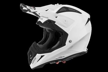 Picture of AIR-H-AV2214 ( )Helmet Offroad 'AVIATOR 2.2' Color White gloss