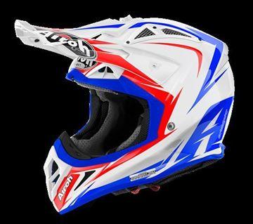 Picture of AIR-H-AV22EG38 ( )Helmet Offroad 'AVIATOR 2.2' Edge White gloss