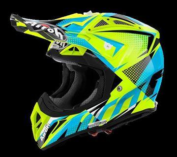 Picture of AIR-H-AV22FL31 ( )Helmet Offroad 'AVIATOR 2.2' Flash Yellow gloss