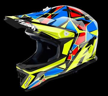 Picture of AIR-H-ARC18 ( )Helmet Kids 'ARCHER' Chief Blue gloss