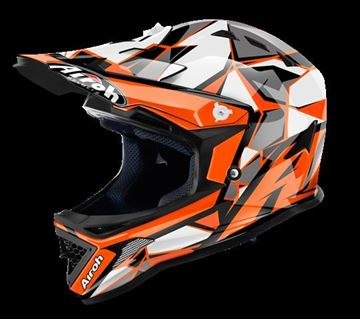 Picture of AIR-H-ARC32 ( )Helmet Kids 'ARCHER' Chief Orange gloss