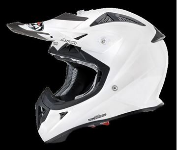 Picture of AIR-H-AVJ14 ( )Helmet Kids 'AVIATOR J.' Color White gloss