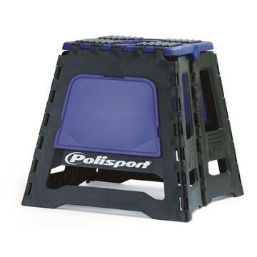 Afbeeldingen van Polisport Moto Stand Foldable MX Blue