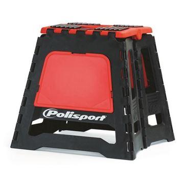 Afbeeldingen van Polisport Moto Stand Foldable MX Red04
