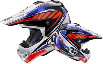 Picture of Arai helm rumble blue