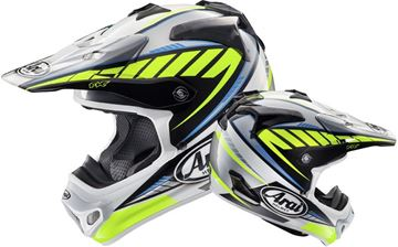 Picture of Arai helm rumble yellow