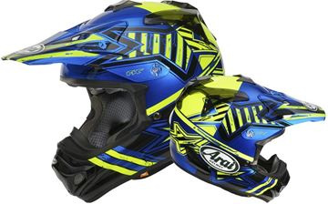 Picture of Arai helm star yellow