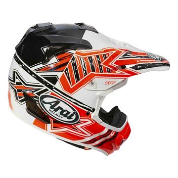 Picture of Arai helm star orange