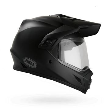 Picture of HELMET BELL MX-9 ADVENTURE SOLID MATTE BLACK  XS t/m XXL