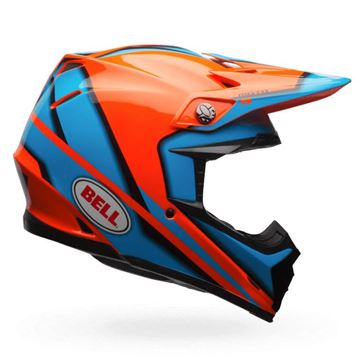 Picture of BELL Moto 9 Spark Helmet Orange