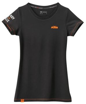 Picture of GIRLS RACING TEE BLACK//3PW1686301//Size//XS t/m XXL