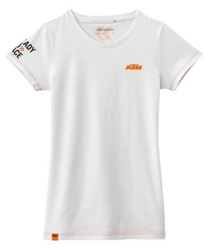 Picture of GIRLS RACING TEE WHITE//3PW1686401//Size//XS t/m XXL