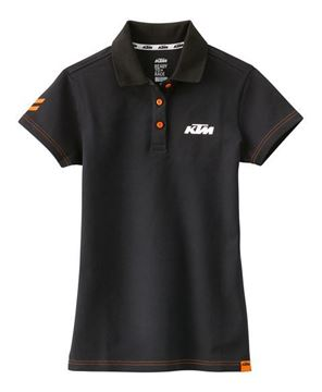 Afbeeldingen van GIRLS RACING POLO BLACK//3PW1786601//Size//XS t/m XXL