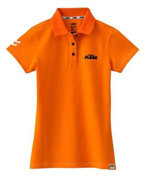 Picture of GIRLS RACING POLO ORANGE//3PW1786701//Size//XS t/m XXL