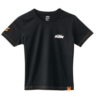 Picture of KIDS RACING TEE BLACK//3PW1796604//Size//XXS t/m L